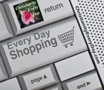 Christianity Every Day Shopping page.  Image courtesy of scottchan at FreeDigitalPhotos.net