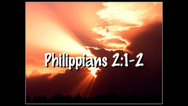 Philippians 21 2 Video Bible Verses Christianity Every Day